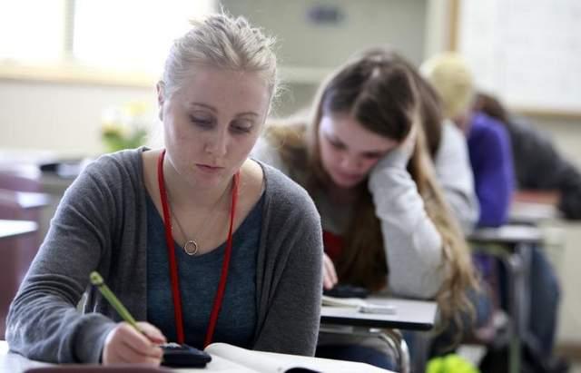 Homework for high school students